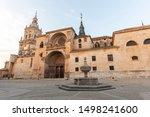 Cathedral of El Burgo de Osma, Soria - Spain.