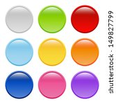 bright round buttons | Shutterstock .eps vector #149827799