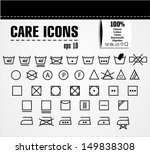 care icon set. | Shutterstock .eps vector #149838308