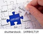 compliance | Shutterstock . vector #149841719