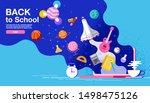 back to school  inspiration ... | Shutterstock .eps vector #1498475126