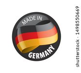 germany flag  vector...   Shutterstock .eps vector #1498550669