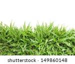 Grass Frame On White Backgroun...