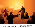 Biblical Vector Illustration...