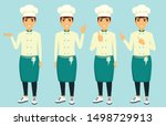 set  the cook's profession....   Shutterstock .eps vector #1498729913