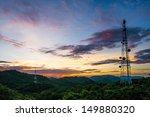 telecommunications tower. | Shutterstock . vector #149880320