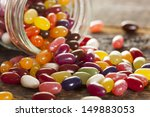 Colorful Mixed Fruity Jelly...