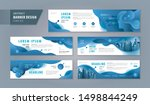 abstract banner design web... | Shutterstock .eps vector #1498844249