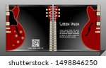 electric guitar vector square...   Shutterstock .eps vector #1498846250