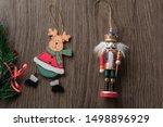Nutcracker And Santa Claus On...