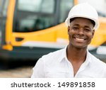 construction worker with... | Shutterstock . vector #149891858