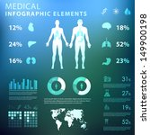 medical infographic elements  | Shutterstock .eps vector #149900198