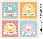 set of ice cream shop vector... | Shutterstock .eps vector #149901764