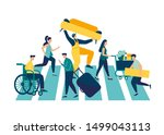 vector illustration ... | Shutterstock .eps vector #1499043113