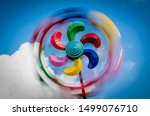 Wind Spinner In The Summer