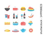 food icons | Shutterstock .eps vector #149908823