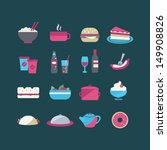 food icons | Shutterstock .eps vector #149908826