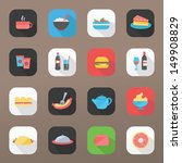 food icons | Shutterstock .eps vector #149908829