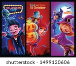 banner for halloween night party | Shutterstock .eps vector #1499120606