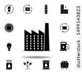 factory icon . set of...