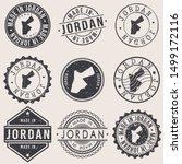 jordan travel stamp made in... | Shutterstock .eps vector #1499172116
