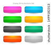 shiny web buttons in eight... | Shutterstock .eps vector #1499182313