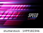Speed Lines Racing Background...