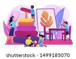 day care center  kindergarten...   Shutterstock .eps vector #1499185070