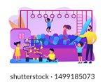 children nursery  day care... | Shutterstock .eps vector #1499185073