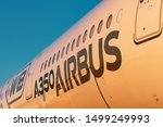 Airbus A350 900 Xwb View Of The ...