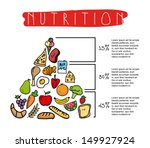 nutrition design over white... | Shutterstock .eps vector #149927924
