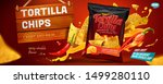 Tortilla Chips Banner Ads With...