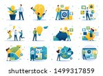 set of concepts on the subject... | Shutterstock .eps vector #1499317859