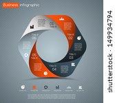 modern vector options layout....   Shutterstock .eps vector #149934794