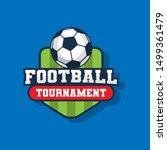 football tournament   modern... | Shutterstock .eps vector #1499361479