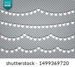 christmas festive lights....   Shutterstock .eps vector #1499369720