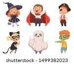 Halloween Kids. Party Children...