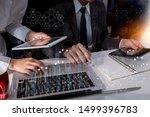 business teamwork or business...   Shutterstock . vector #1499396783