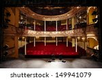 view of an empty theatre with... | Shutterstock . vector #149941079