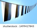 3d illustration  many estonia... | Shutterstock . vector #1499417843