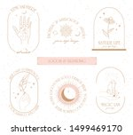 collection of logos and icons... | Shutterstock .eps vector #1499469170