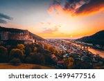 View Over Heidelberg  Germany....