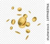 libra digital cryptocurrency... | Shutterstock .eps vector #1499483966