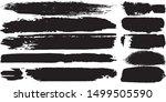 grunge vector brush. abstract... | Shutterstock .eps vector #1499505590