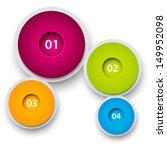 round infographic design... | Shutterstock .eps vector #149952098