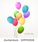 background with multicolored... | Shutterstock .eps vector #149953028