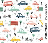 seamless pattern with hand...   Shutterstock .eps vector #1499531129