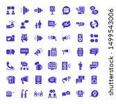Communicate Icons. Editable 49...