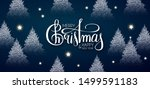 merry christmas and happy new... | Shutterstock .eps vector #1499591183