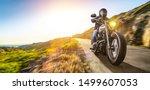 Motorbike On The Coast Road...